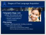 stages of first language acquisition2