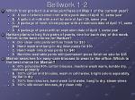 bellwork 1 2