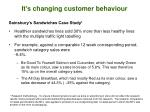 it s changing customer behaviour1