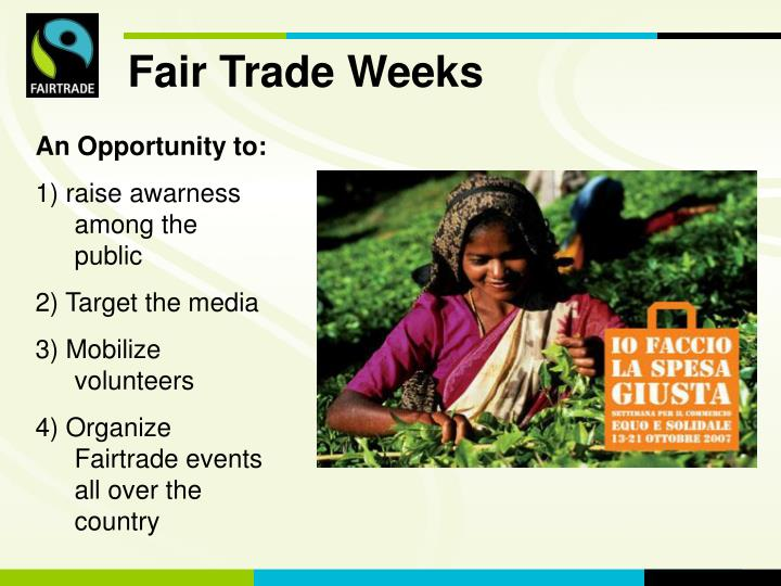 Fair Trade Weeks