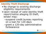 identity theft discharge2