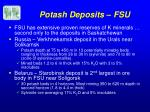 potash deposits fsu