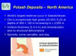 potash deposits north america