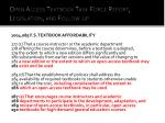 open access textbook task force report legislation and follow up