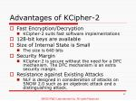 advantages of kcipher 2
