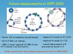 future measurements at vepp 2000