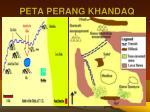 peta perang khandaq