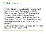 1828 48 summary