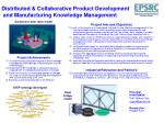 distributed collaborative product development and manufacturing knowledge management