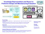 knowledge representation and reuse for predictive design and manufacturing evaluation