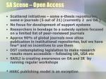sa scene open access