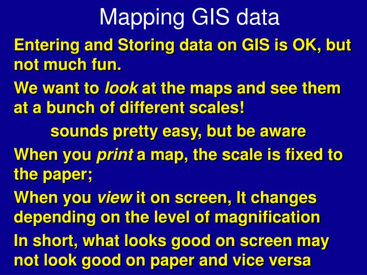 mapping gis data n.