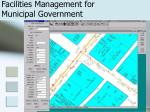 facilities management for municipal government