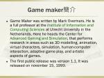 game maker3