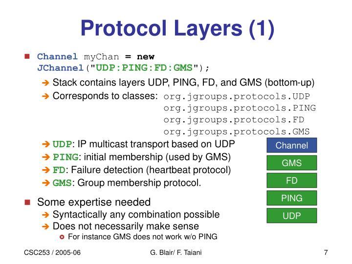 Protocol Layers (1)