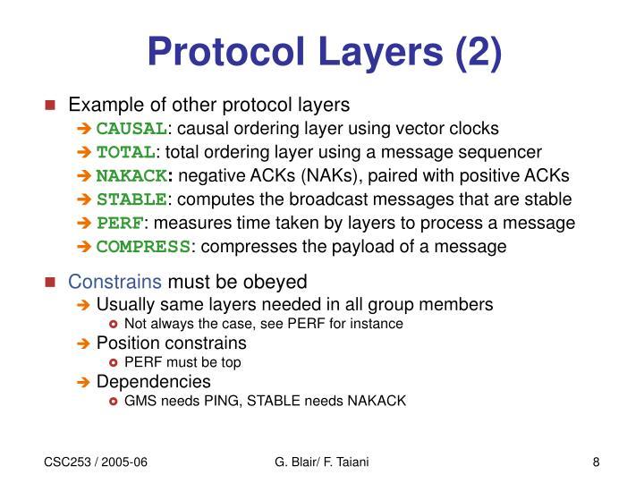 Protocol Layers (2)