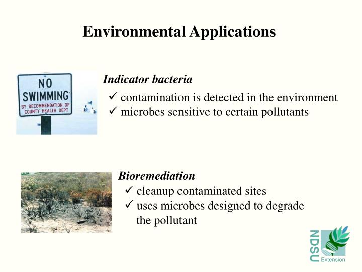 Environmental Applications