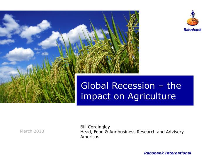 impact of global recession in fashion industry At a high level meeting in january 2009 who was requested to investigate the impact of the current economic recession on global impact of global recession on.