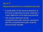 163 3177 required elements of a comprehensive plan
