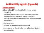 antimotility agents opioids