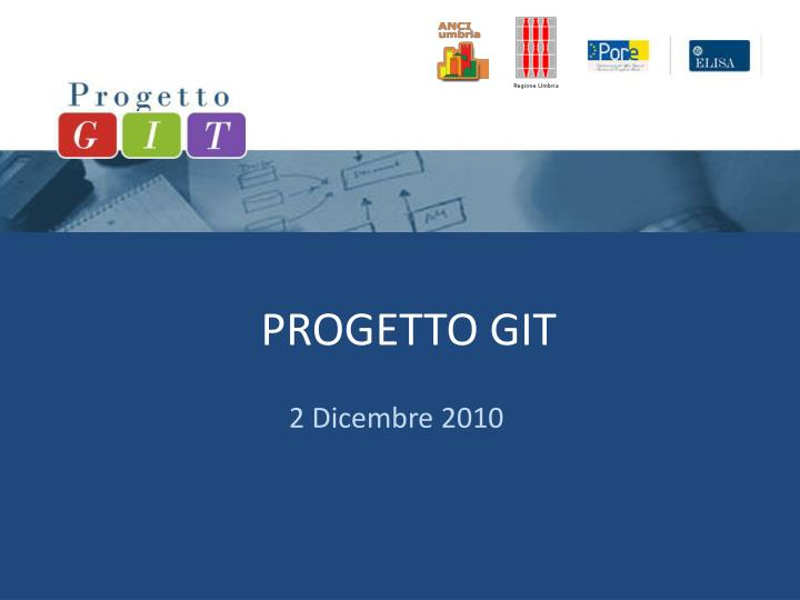 progetto git n.