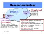 beacon terminology