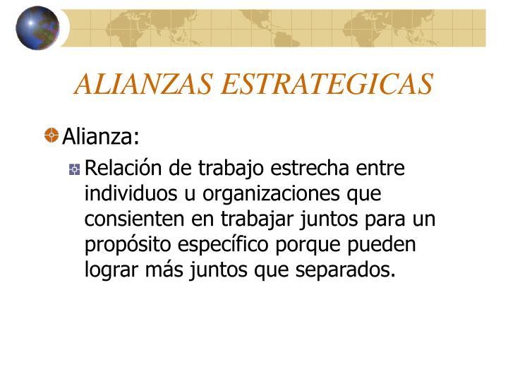 Alianzas estrategicas1