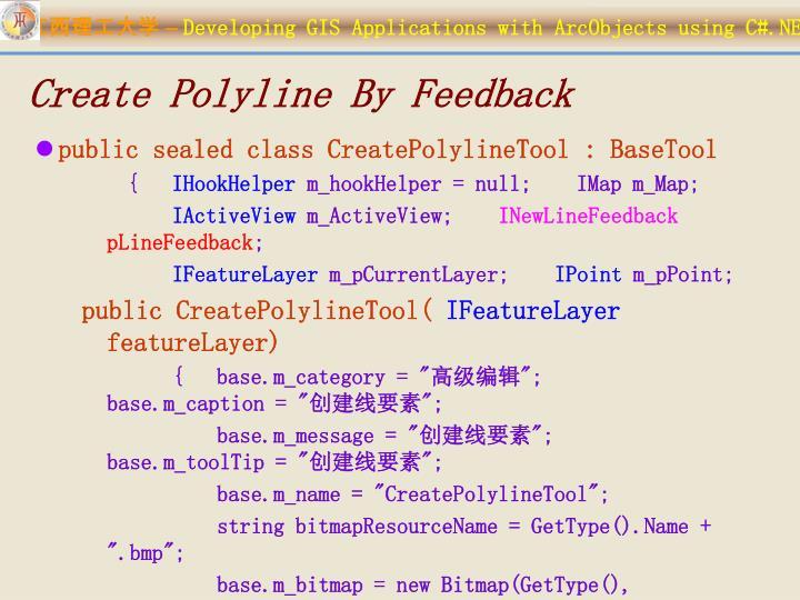 Create Polyline By Feedback
