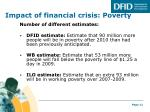 impact of financial crisis poverty