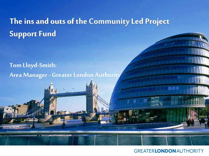 the ins and outs of the community led project support fund n.