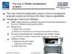 use case 2 mobile visualizations scenario