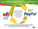 ebay paypal a dominant force in global e commerce