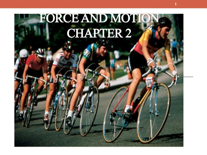 force and motion chapter 2 n.