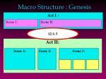 macro structure genesis1