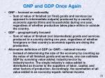 gnp and gdp once again