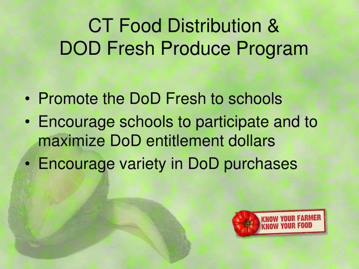 CT Food Distribution &
