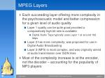 mpeg layers