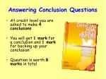 answering conclusion questions1