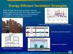 energy efficient ventilation strategies