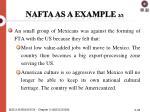 nafta as a example 3 3