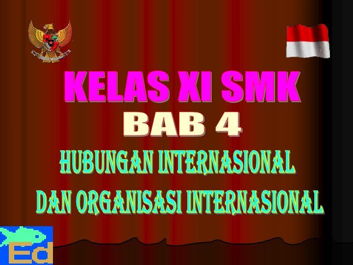 KELAS XI SMK