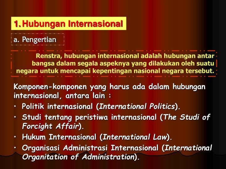 Hubungan Internasional
