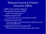 national income product accounts nipa