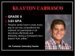 klayton carrasco