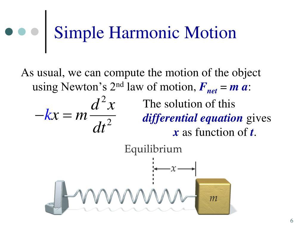 PPT - 13  Oscillatory Motion PowerPoint Presentation - ID:5630187