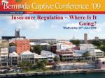 insurance regulation where is it going
