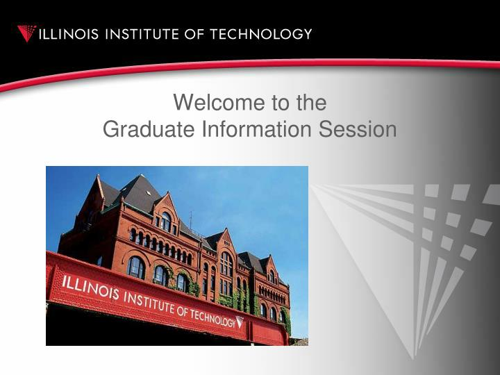 welcome to the graduate information session n.