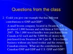 questions from the class1