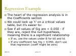 regression example4