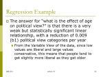 regression example5